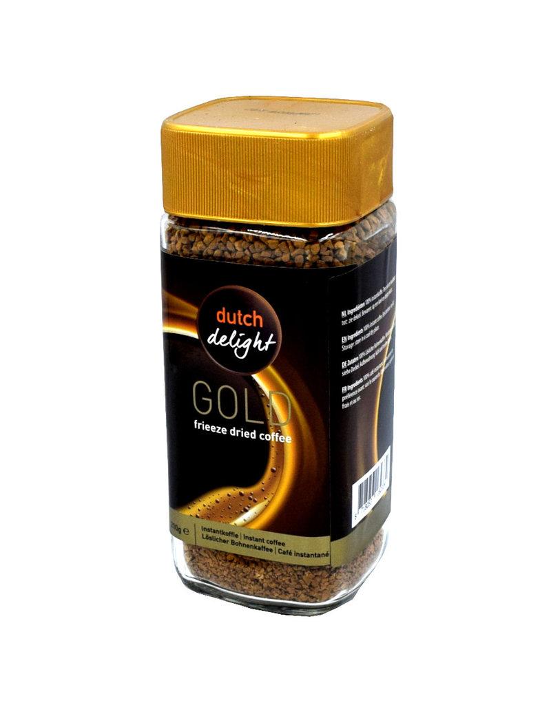 Dutch Delight Gold Löslicher Kaffee - 200 Gramm
