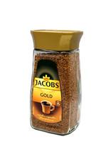 Jacobs Jacobs Gold oploskoffie 200gr glas - 6 Pack