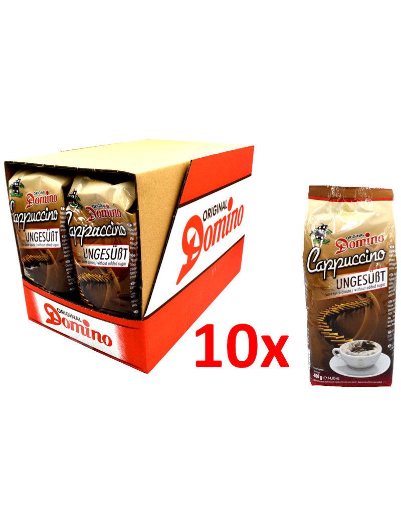 Domino Cappuccino ongezoet (zonder cacao) 400 gr - Doos