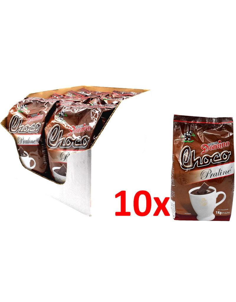 Domino Choco Praline 1 Kg (Schokolade trink) - Karton