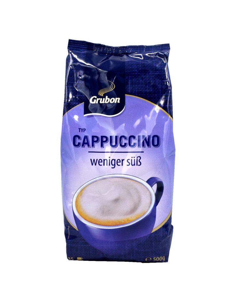 Grubon Grubon Cappuccino Minder zoet 500 gr - Doos