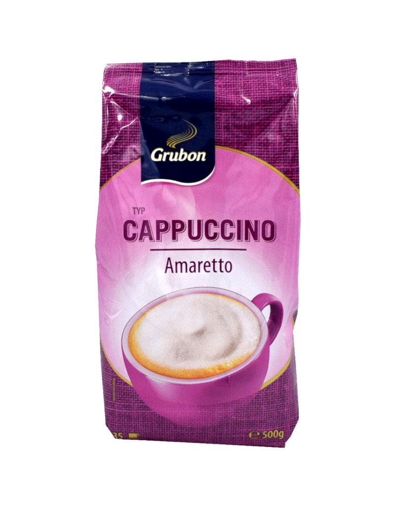 Grubon Grubon Cappuccino Amaretto 500gr - Karton