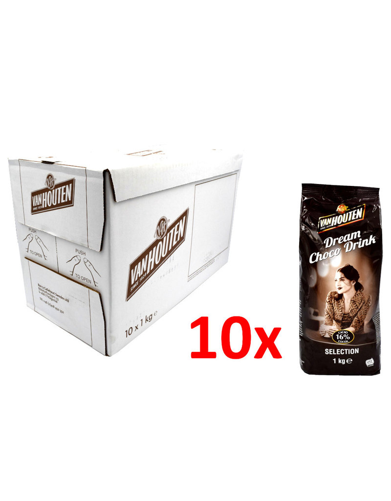 Van Houten Van Houten Dream Choco Drink Selection (16 % cacao) 1 Kilo - Doos