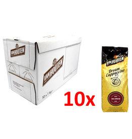 Van Houten Van Houten Dream Cappuccino - 1 kilo - choco cappuccino - Doos