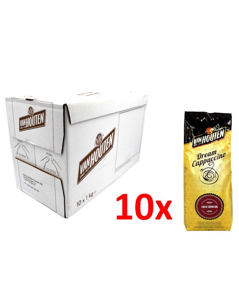 Van Houten Van Houten Dream Cappuccino - 1 kilo - choco cappuccino - Karton