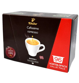 Tchibo Tchibo Cafissimo Espresso Strong benefit package (coffee capsules for Cafissimo)