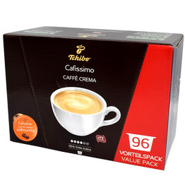 Tchibo Tchibo Cafissimo Caffé Crema Vollmundig benefit package (coffee capsules for Cafissimo)