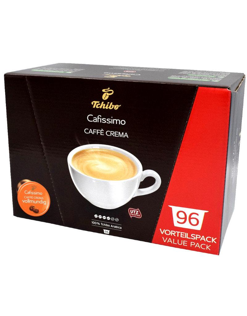 Tchibo Tchibo Cafissimo Caffé Crema Vollmundig Vorteilspaket (Kaffeekapseln für Cafissimo) - 4 Pack