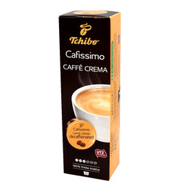 Tchibo Tchibo Caffe Crema Decaffeinated (Coffee capsules for Cafissimo)