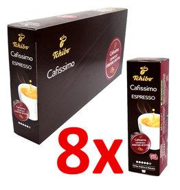 Tchibo Tchibo Espresso Kräftig (Coffee capsules for Cafissimo) - 8 Pack