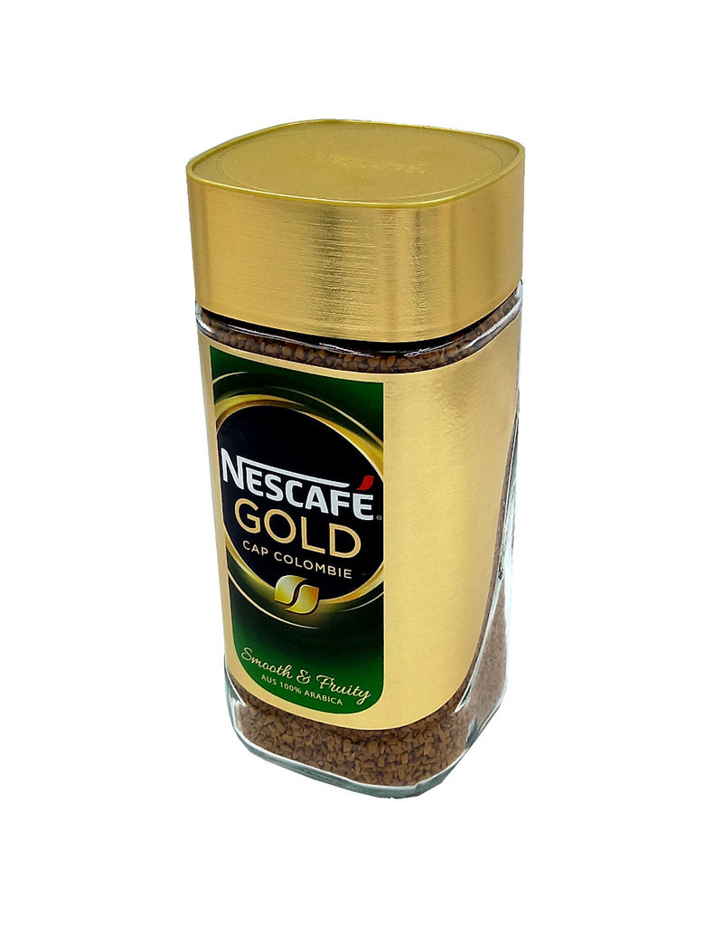 Nescafe Nescafé Cap Colombie, oploskoffie, 200g Glas