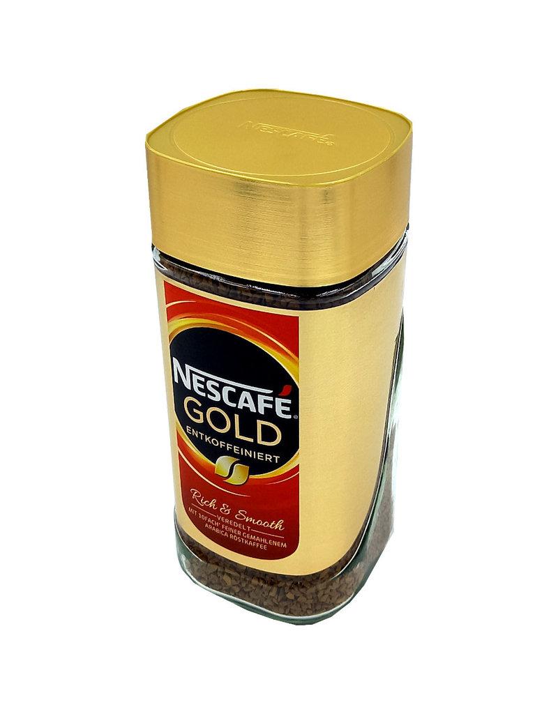 Nescafe Nescafe Gold Decafe 200g - oploskoffie zonder caffeïne