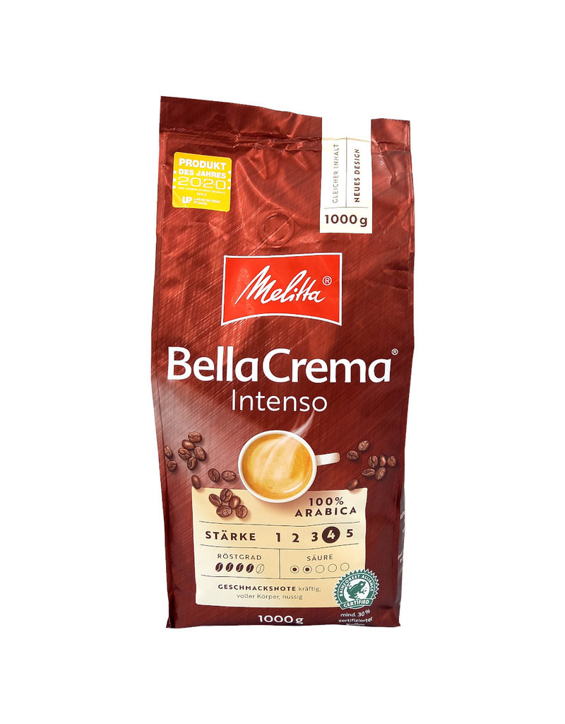 Melitta Melitta Bella Crema Intenso koffiebonen 1 kilo