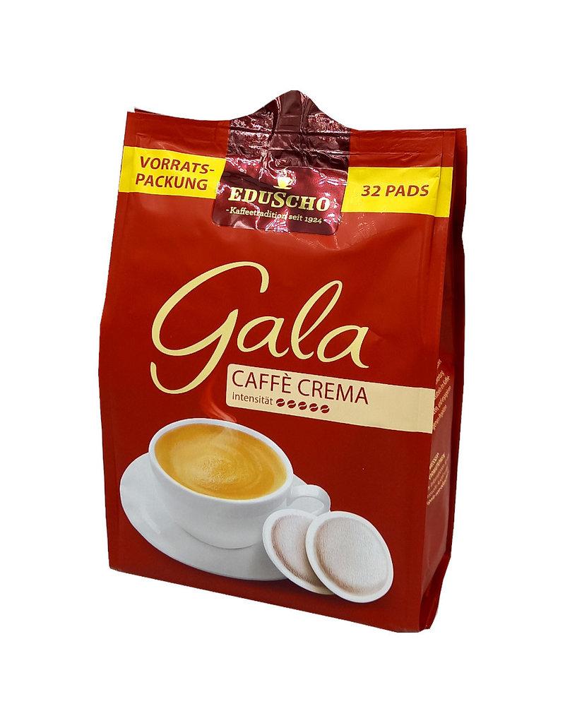 Eduscho Eduscho Gala Caffe Crema 32 Koffiepads