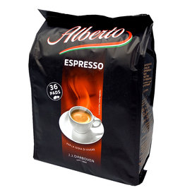 J.J. Darboven Kaffee Alberto Espresso 36 Coffee Pods