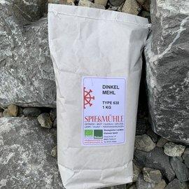 Spießmühle Dietershofen Bio Dinkelmehl 630