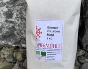 Bio Emmer oder Einkornmehl