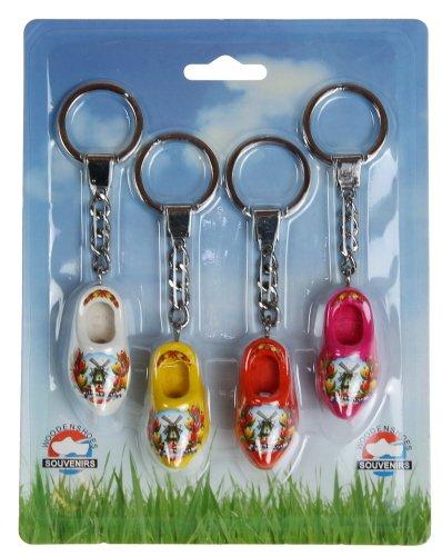 Nijhuis Blister 4 sleutelhangers 1 klompje (4cm)