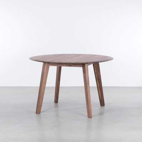 Samt Round table Walnut