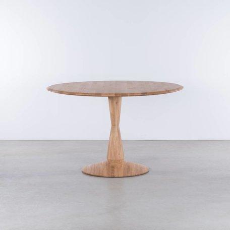 Volante ronde tafel Eiken