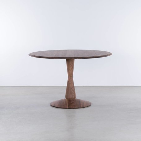 Volante round table Walnut