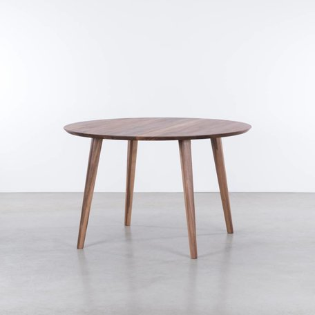 Tomrer ronde tafel Walnoot