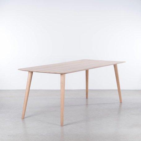 Olger Table Oak Whitewash