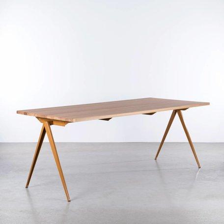 TD4 Table Ocher Brown - Oak