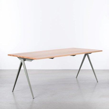 TD4 Table Cement grey / Beech