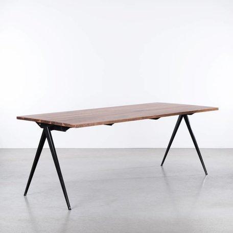 TD4 Table Black - Walnut