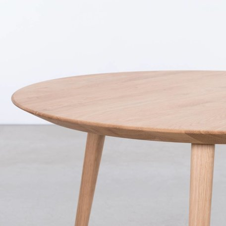 Tomrer Coffee Table Round Oak - 3 leg