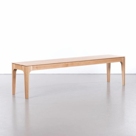 Rikke dining table bench oak