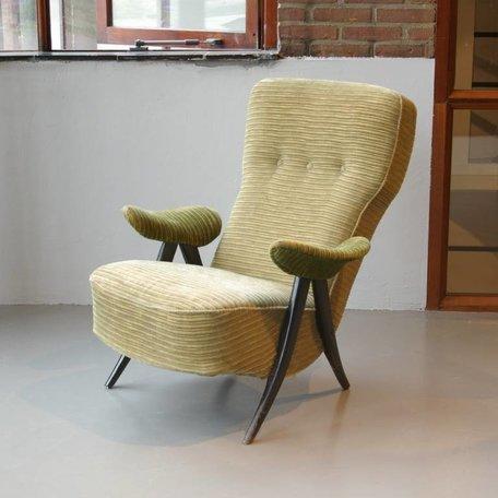 Theo Ruth fauteuil met armleunig Artifort 50s