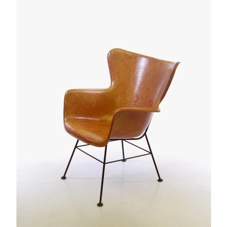 Luther Conover Fibreglass Chair 1950