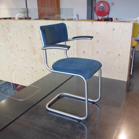 Galvanische Industrie stoel - Petrol rib