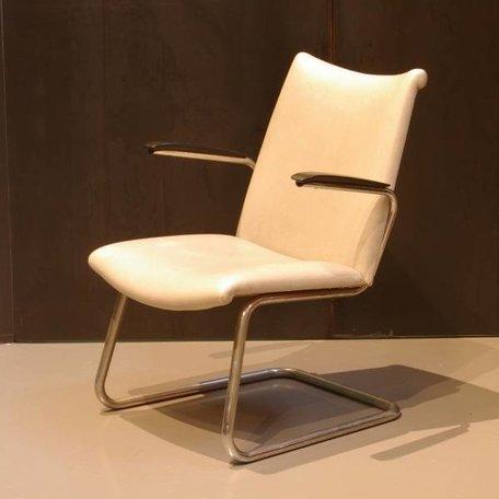 De Wit 4014 fauteuil - Orgineel Kunstleer