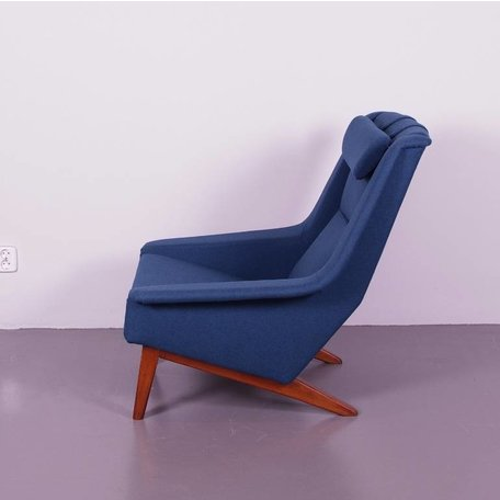 Folke Ohlsson fauteuil model 4410 Fritz Hansen nieuw bekleed