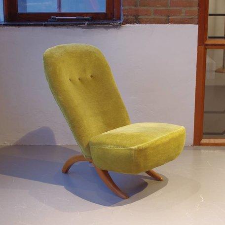 Theo Ruth Congo fauteuil Artifort groen