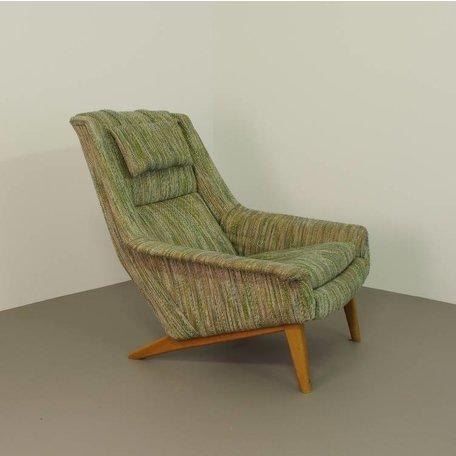 Folke Ohlsson fauteuil model 4410 Fritz Hansen