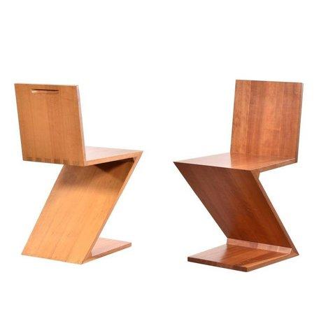 Gerrit Rietveld Zig Zag stoel Cassina