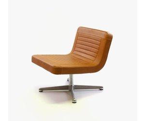Copray scholten fauteuil artifort cognac leer de machinekamer