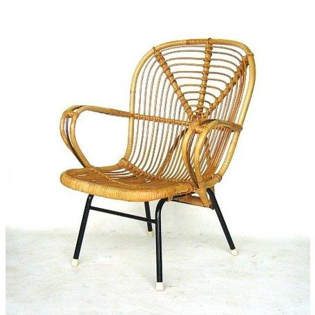 Retro rotan fauteuiltje sixties Rohe noordwolde (4)