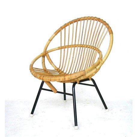 Retro rotan fauteuiltje sixties Rohe noordwolde (6)