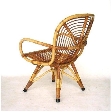 Retro rotan fauteuiltje sixties Rohe noordwolde (7)