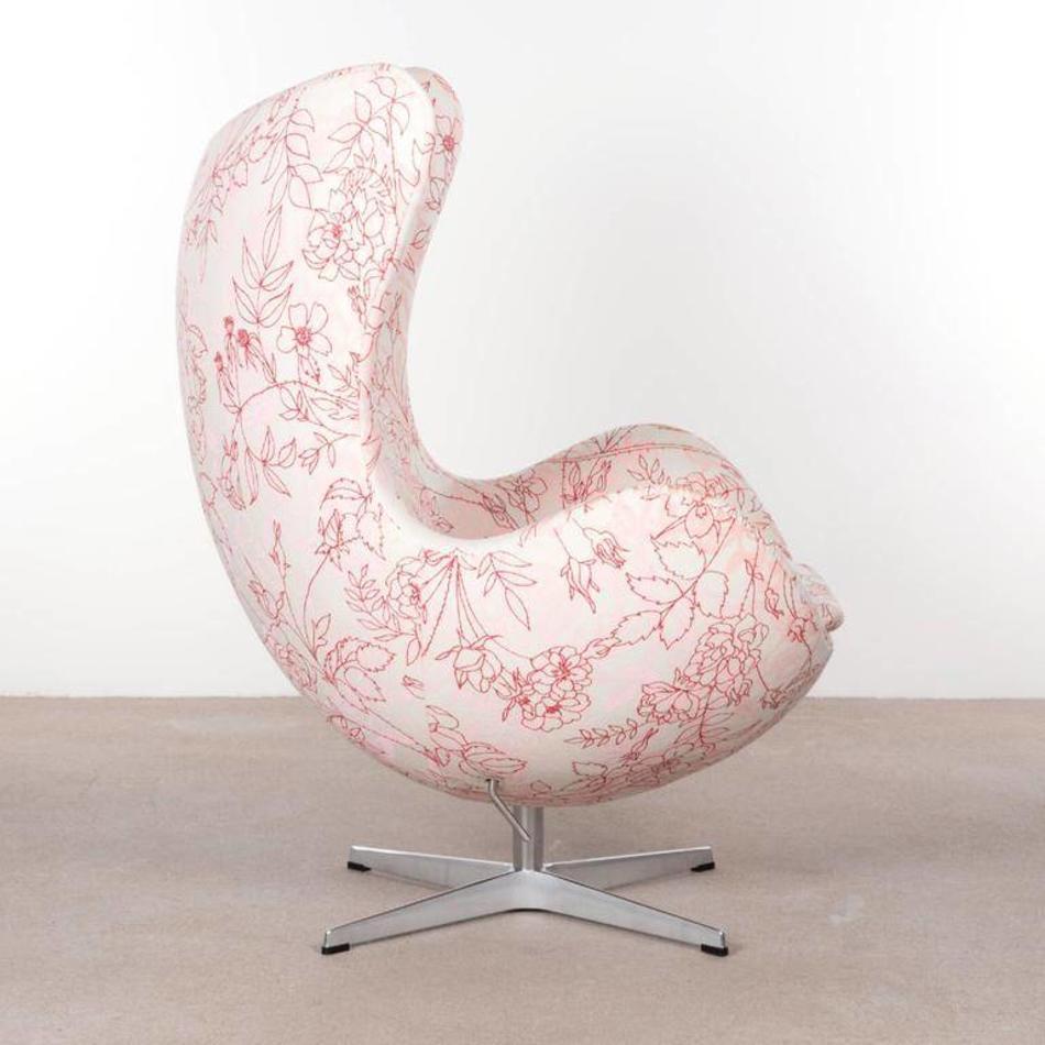 Egg Chair Stof.Jacobsen Egg Fauteuil Happy De Machinekamer