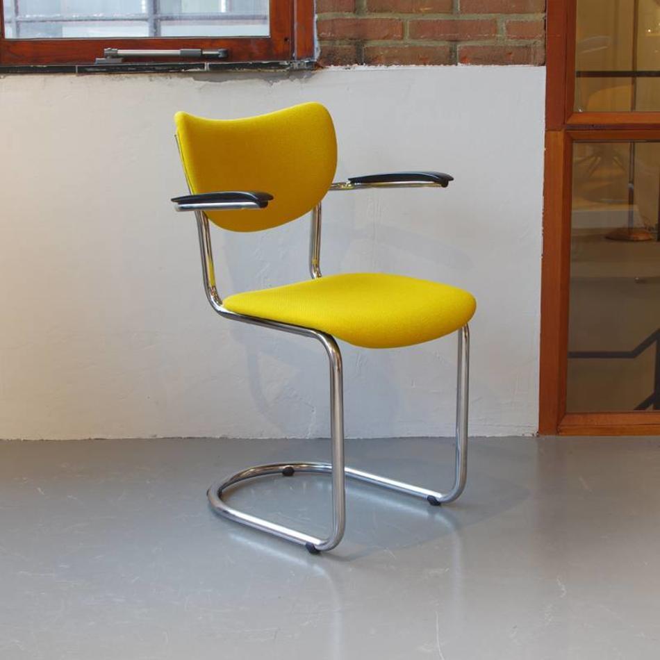 Vintage Bureaustoel De Wit.De Wit 3011 Stoel Stof Naar Wens De Machinekamer