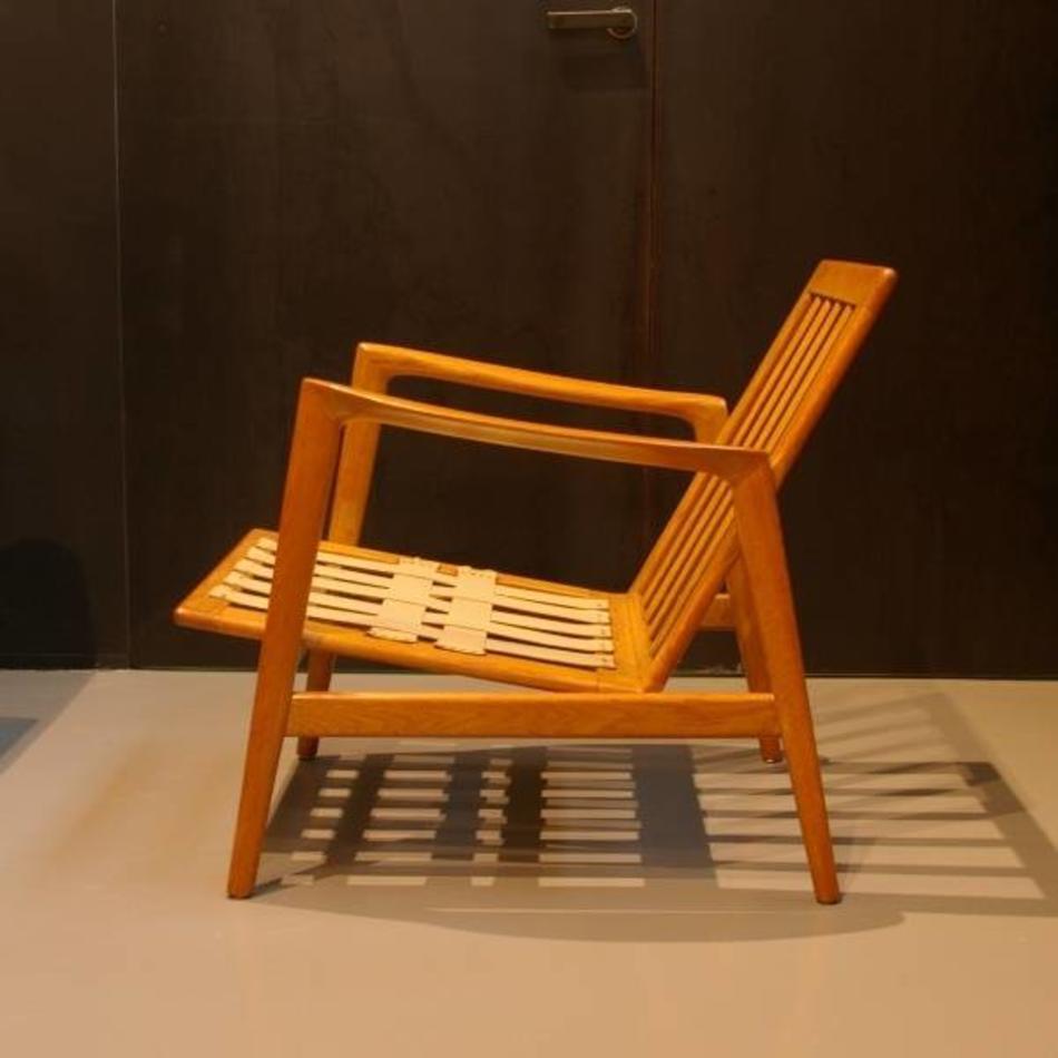 Verrassend scandinavische fauteuil hout jaren 60 - De Machinekamer QG-23