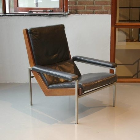 Rob Parry fauteuil gelderland zwart leer