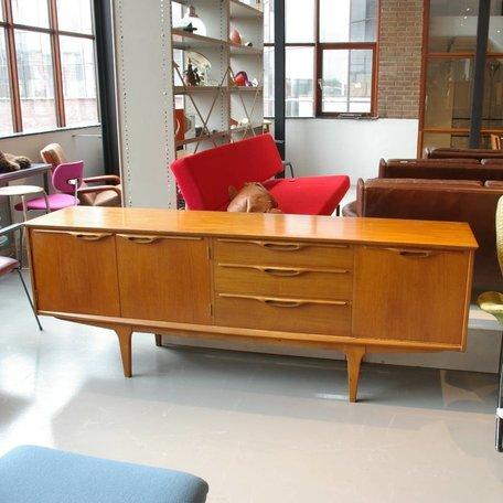 Deense stijl Dressoir jaren 60 teak