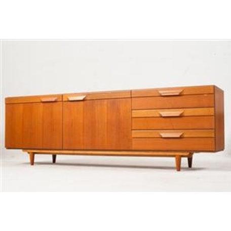 Möbelwerk Retro dressoir teak jaren 70